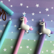 Load image into Gallery viewer, Pastel Unicorn Gel Pen-3-The Persnickety Co