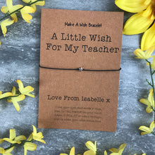 Load image into Gallery viewer, A Little Wish For A Teacher-9-The Persnickety Co