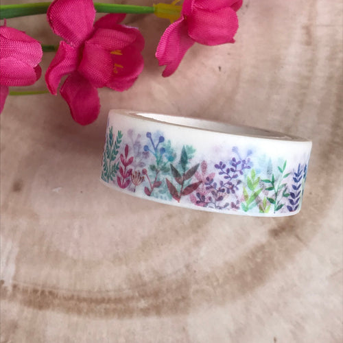 Colourful Plant Washi Tape-The Persnickety Co