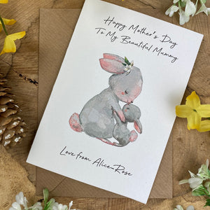 Happy Mother's Day To My Beautiful Mummy - Personalised Card-10-The Persnickety Co