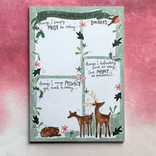 Load image into Gallery viewer, Winter Wonderland A5 Notepad-The Persnickety Co