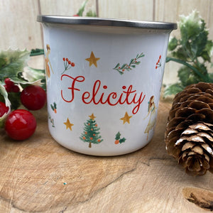 Nutcracker Personalised Enamel Mug-The Persnickety Co