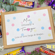 Load image into Gallery viewer, Officially A Teenager Personalised Chocolate Box-4-The Persnickety Co