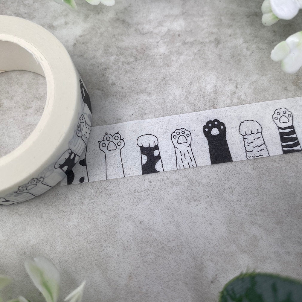 Cute Cat Paw Washi Tape-The Persnickety Co