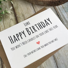 Load image into Gallery viewer, Personalised Humorous Birthday Card-6-The Persnickety Co