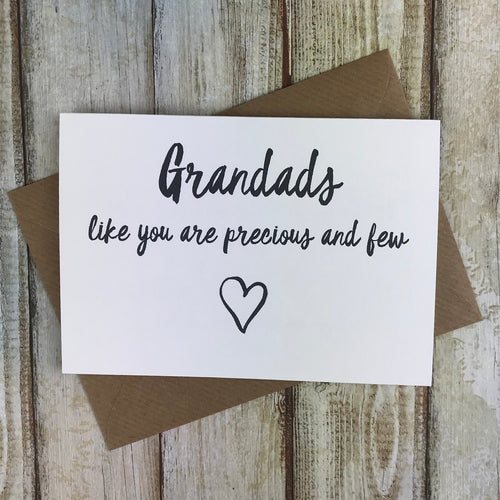 Grandads Like You Are Precious And Few Card-The Persnickety Co