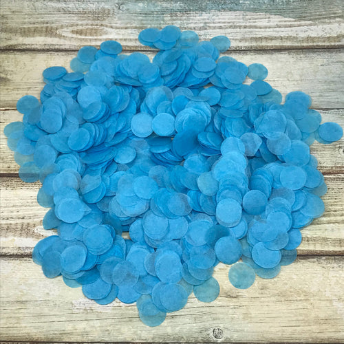 Blue Confetti-The Persnickety Co