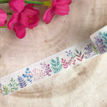 Load image into Gallery viewer, Colourful Plant Washi Tape-6-The Persnickety Co
