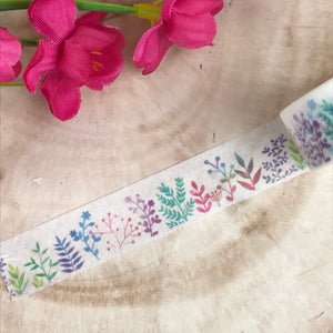 Colourful Plant Washi Tape-6-The Persnickety Co