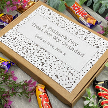 Load image into Gallery viewer, Grandad Fathers Day Treat - Personalised Chocolate Box-6-The Persnickety Co