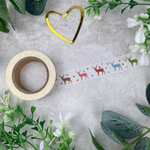 Load image into Gallery viewer, Reindeer Washi Tape-4-The Persnickety Co