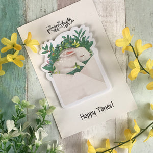 Cute Bunny Sticky Notes-3-The Persnickety Co