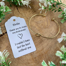 Load image into Gallery viewer, Knot Bangle - Bridesmaid Thank You-8-The Persnickety Co
