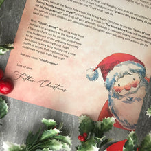 Load image into Gallery viewer, Letter From Father Christmas-2-The Persnickety Co