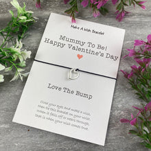 Load image into Gallery viewer, Mummy To Be Happy Valentine's Day Wish Bracelet-3-The Persnickety Co