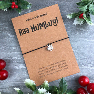 Baa Humbug Wish Bracelet-10-The Persnickety Co