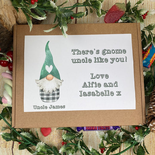 Personalised Gnome One Like You Sweet Box-The Persnickety Co