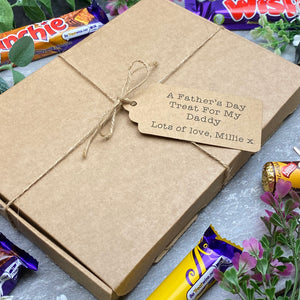 A Father's Day Treat - Personalised Chocolate Gift Box-9-The Persnickety Co