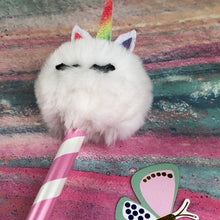 Load image into Gallery viewer, Fluffy Unicorn Pencil-8-The Persnickety Co