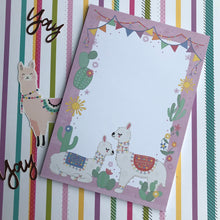 Load image into Gallery viewer, Llama A5 Notepad-The Persnickety Co
