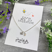 Load image into Gallery viewer, Bee My Valentine Necklace-4-The Persnickety Co