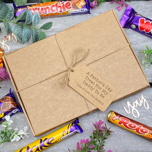 Daddy To Be Father's Day - Personalised Chocolate Gift Box-3-The Persnickety Co