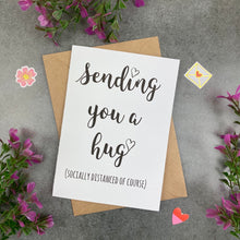 Load image into Gallery viewer, Sending You A Hug (Socially Distanced Of Course) Card-5-The Persnickety Co