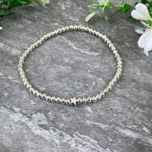 Happy 21st Birthday Beaded Bracelet-4-The Persnickety Co