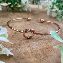 Load image into Gallery viewer, Will You Be My Bridesmaid Knot Bangle-4-The Persnickety Co
