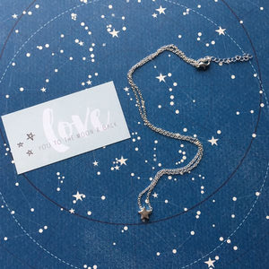 Good Friends Are Like Stars Silver/Gold Necklace-5-The Persnickety Co