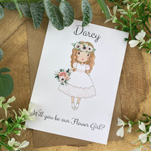 Load image into Gallery viewer, Wedding Card - Will You Be Our Flower Girl?-The Persnickety Co