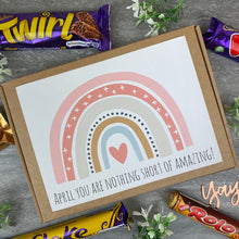 Load image into Gallery viewer, You Are Nothing Short Of Amazing Personalised Chocolate Box-The Persnickety Co