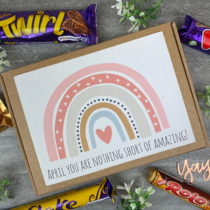 You Are Nothing Short Of Amazing Personalised Chocolate Box-The Persnickety Co