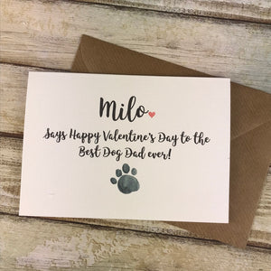 Happy Valentines Day To The Best Dog Dad/Mum Ever!-5-The Persnickety Co