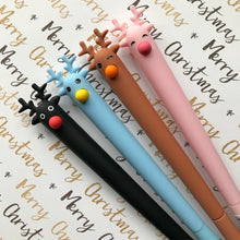 Load image into Gallery viewer, Cute Reindeer Gel Pen-2-The Persnickety Co