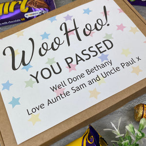 Woo Hoo! You Passed - Personalised Chocolate Box-2-The Persnickety Co