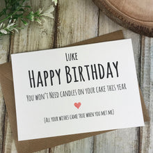 Load image into Gallery viewer, Personalised Humorous Birthday Card-4-The Persnickety Co