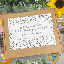 Load image into Gallery viewer, A Fathers Day Treat For Grandad - Medium Sweet Box-5-The Persnickety Co