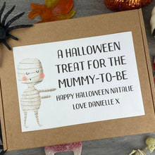 Load image into Gallery viewer, Mummy To Be Personalised Halloween Sweet Box-4-The Persnickety Co