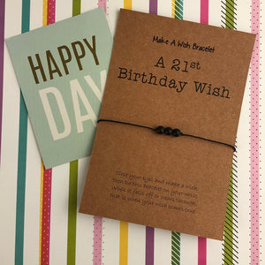A 21st Birthday Wish - Onyx-3-The Persnickety Co