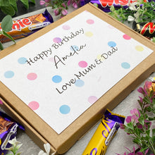 Load image into Gallery viewer, Personalised Birthday Chocolate Gift Box-6-The Persnickety Co