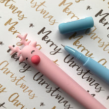 Load image into Gallery viewer, Cute Reindeer Gel Pen-7-The Persnickety Co