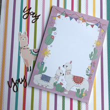Load image into Gallery viewer, Llama A5 Notepad-6-The Persnickety Co