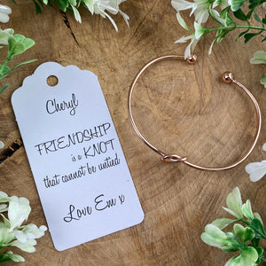 Friendship Is A Knot Bangle-7-The Persnickety Co