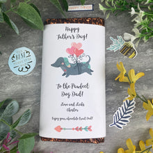 Load image into Gallery viewer, Pawfect Dog Dad Father's Day Chocolate Bar