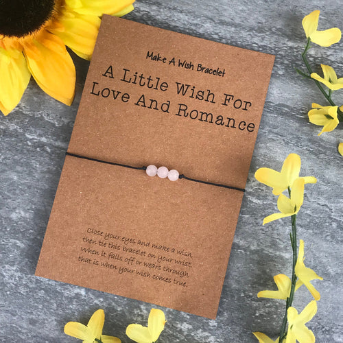 A Little Wish For Love And Romance - Rose Quartz-The Persnickety Co