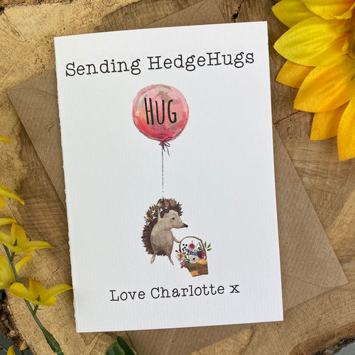 Sending Hedgehugs Card-The Persnickety Co