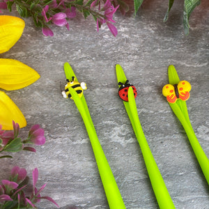 Cute Garden Bug Gel Pens