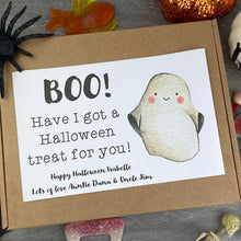 Load image into Gallery viewer, BOO Personalised Halloween Sweet Box-The Persnickety Co