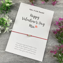 Load image into Gallery viewer, Happy Valentine's Day Personalised Wish Bracelet-3-The Persnickety Co